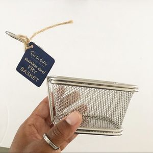 Set of 4 Mini Stainless Steel Fry Baskets